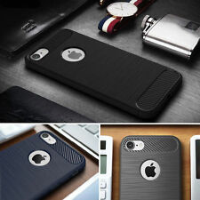 Hot Shockproof Silm Hybrid Rubber Silicone Soft TPU Case Brushed Cover For Phone