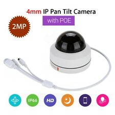 2MP IP 1080P Security Camera 4mm Infrared Onvif Speed Network PoE H.265 Pan Tilt