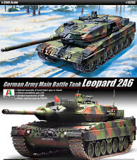 1/35 German Army Main Battle Tank Leopard 2A6 #13282 ACADEMY MODEL KITS