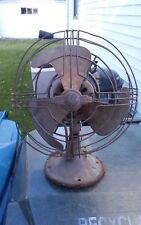 Vintage General Electric GE Art Deco Oscillating Fan vintage table fan
