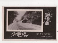 On The Way To Berstead Sussex 1909 RP Postcard Davidson 623b