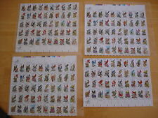 Vintage State Birds Collection -20 cent Stamps, Lot (3) Full Sheet of 50 & More!