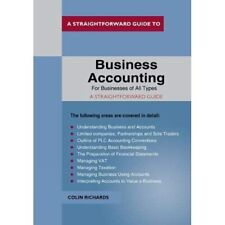 Business Accounting: For Businesses Of All Types - Paperback / softback NEW Rich