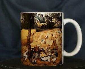 The Harvesters (Late Summer) - Bruegel Art Mug