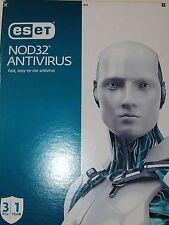 Genuine ESET NOD32 Antivirus 2017 3 PCs 1 Year deal end today