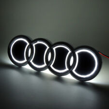 Illuminated 5D LED Car Tail Logo White Light For Audi Q5 A1 Badge Emblem Light