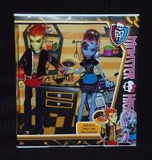 Monster high home ick classe 2 poupée pack inc heath burns et abbey bominable neuf