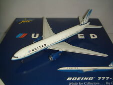 """Gemini Jets 400 United Airlines UA B777-200 """"2004s Tulip color"""" 1:400"""