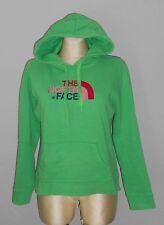 The North Face Women Capuche Sweatshirt Pull Shirt Taille L Vert w3/08/r9