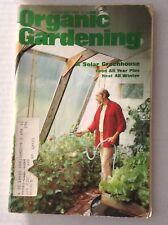 Organic Gardening Magazine Solar Greenhouse November 1980 122316rh