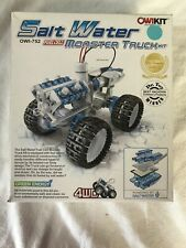 NIB OWIKIT Salt Water Fuel Cell Monster Truck Kit OWI-752 New in Box