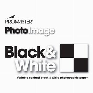 Promaster Black & White Darkroom Photo Paper 500 sheets 5x7 LUSTER #3031 x5