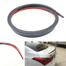1Pc 1.2M Black Car Modified Rear Roof Trunk Spoiler Rear Wing Lip Can be Cutted