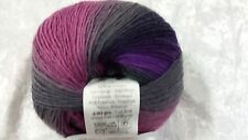 #67 Blue 328 yds Katia Air Lux Yarn - Sock Weight Super soft