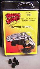 Hoppin Hydros 4 Motor Gears for Small Model Hydraulic Kit and Hobby Motors