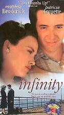 Infinity VHS Movie 1998  Brand New