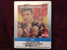 The Karate Kid (1984) Futureshop Steelbook Blu Ray -Canadian, Bilingual