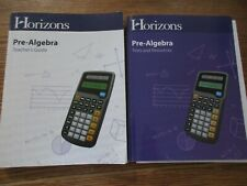 Horizons Pre-Algebra set (teacher's guide/tests and resources)