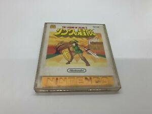 ZELDA 2 Adventure of Link Nintendo Famicom Disk System Tested US Seller