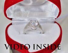 Heart Platinum IF Fine Diamond Rings