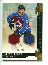 2019-20 UD Artifacts Alex Kerfoot DUAL JERSEY RELIC GOLD /165
