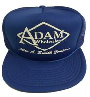 Trucker Hat Cap Mesh Snapback Blue One Size Fits All Adam Wholesalers Smith Co