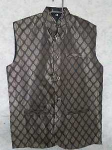 Waistcoat Jammawar Thin for Men's / Kids in different sizes(Free Post in UK)