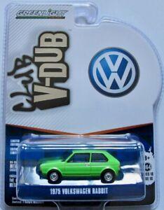 1975 VW Golf I   lindgrün   /  Greenlight 1:64