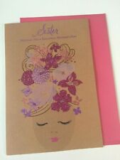 """Hallmark Mothers Day Greeting Card """"Sister""""  - New"""