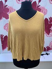 New Look Cappuchino Oversized Sweatshirt Size M New