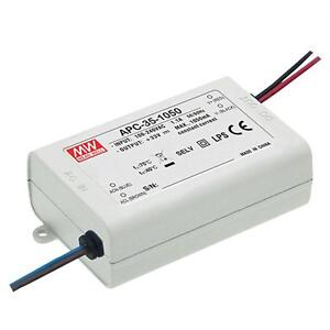 MeanWell APC-35-350 35W 350mA 28...100VDC Constant current LED power supply