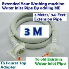 3 METER EXTENSION INLET HOSE WATER PIPE FULLY AUTOMATIC WASHING MACHINE