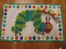 Pottery Barn Kids Hungry Caterpillar Mat/Rug With Wood Caterpillar