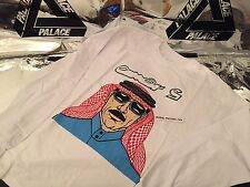 PALACE SKATEBOARDS SS16 XLARGE OMAR S  WHITE TRI FERG LONG SLEEVE TEE XL ARAB