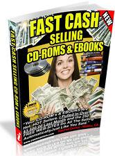 FASH CASH SELLING CD-ROMS & EBOOKS PDF EBOOK FREE SHIPPING RESALE RIGHTS