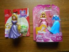 Lot of 2 Disney Princess Little Kingdom RAPUNZEL & SLEEPING BEAUTY polly pocket
