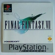 *INSTRUCTIONS ONLY* Final Fantasy VII 7 Manual Playstation One 1 PSOne PS1 PSX