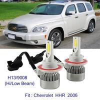 2x H13/9008 15200LM  LED Headlight Kit Bulb For Chevrolet HHR 2006 Hi/Low Beam