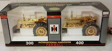 1/16 SpecCast 2004 International Farmall 300 400 Tractor Set 50th Ann RARE Gold