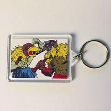 VULTUREMAN & MONKIAN Thundercats Comic Poster Art Key Ring Chain Keyring Fob