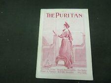 1898 APRIL THE PURITAN MAGAZINE - GREAT ILLUSTRATIONS -ST 801