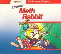 MATH RABBIT DELUXE 1996 +1Clk Windows 10 8 7 Vista XP Install