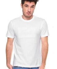 Lacoste Men's Logo Graphic T-Shirt White Size Medium