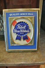Vintage Pabst Blue Ribbon Beer Sign P-2248
