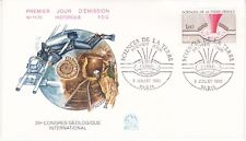 Enveloppe 1er jour FDC n°1170- 1980 - Sciences de la Terre Géologique