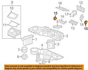 Hummer GM OEM 03-07 H2 6.0L-V8 Evaporator Heater-Actuator Left 89023358
