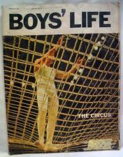 BOY'S LIFE MAGAZINE MARCH 1967 BOY SCOUTS OF AMERICA - THE CIRCUS  VINTAGE