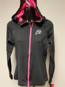 New Utah Utes Womens Size S Small Performance Light Weight Jacket Hoodie $50