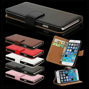Magnetic Leather Flip Wallet Phone Case Cover for Apple iPhone 6/7/8/Plus