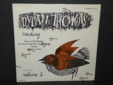 Dylan Thomas Rading Volume 2 sealed LP vinyl record poetry A Winter's Tale